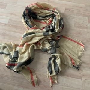 Unbranded Checkered Scarf One Size